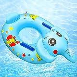 Anillo de Natación Asient,Flotador para Bebé,Flotador de Piscina para bebés,Anillo de Natación para Bebé,Anillo Flotador Bebe,Flotador Inflable para Bebé,Bebé Inflable Anillo de Piscina (A)