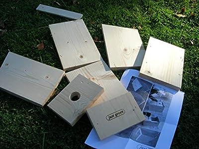 Diy Bird Box Kit by JUST GREEN