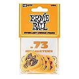 Ernie Ball .73mm Arancione Everlast Plettri 12 per confezione