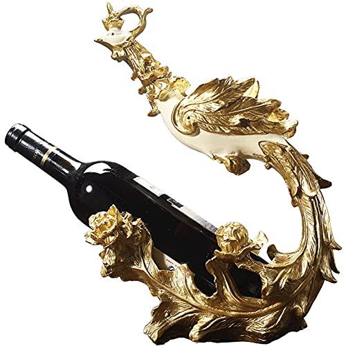 Tastak Soporte para Vino de pie, Phoenix Nirvana Wine Rack, Personalidad Minimalista Moderna, Sala de Estar, Muebles creativos nórdicos