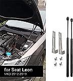 JINGLINGKJ - Amortiguador de capó delantero para León MK3 2012-2019, amortiguadores de gas, varillas de resorte, 2 unidades
