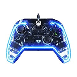 - Featuring Afterglow's signature Prismatic LED lighting, set your favorite color - Hook up your headset to the 3.5mm audio jack and enjoy chat and volume controls located directly on the controller - Enhanced gameplay with vibration feedback. - Comp...