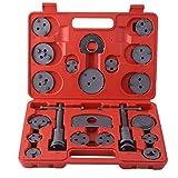 Uniquelove Kit Universal de 22 Piezas de Pinza de Freno de Disco para reemplazo de Pastillas de Freno para la mayoría de los Coches, Herramienta de reparación de Garaje con Estuche de Transporte