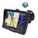 AWESAFE GPS para Coche de 7 Pulgadas con Bluetooth,...