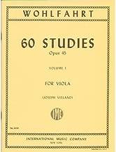 Wohlfahrt Franz 60 Studies, Op. 45: Volume 1 - Viola solo - by Joseph Vieland-International Music