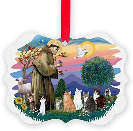 Montrwie St Francis 2 – 7 Gatos. PNG acrílico Adornos de Navidad, árbol de Navidad, Adornos de decoración, Recuerdo