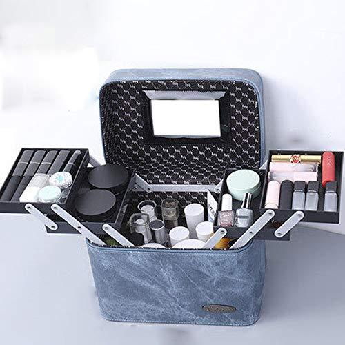 PLID Viaje Organizador,Cosméticos Plegable para Hogar,Bolsa de cosméticos a Prueba de Agua,Organizador...