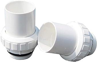 jinclonder Bomba de piscina, conexión en directo, 50 filtros de circulación para depósito de arena, entrada y salida de agua de 63 conexiones, accesorios de piscina, filtro de conexión