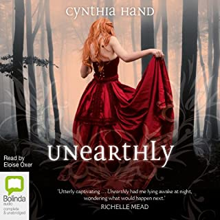 Unearthly                   By:                                                                                                                                 Cynthia Hand                               Narrated by:                                                                                                                                 Eloise Oxer                      Length: 11 hrs and 50 mins     49 ratings     Overall 4.4
