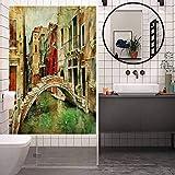 Vinilo adhesivo de vidrio anti ultravioleta, diseño de venecia veneciana veneciana de Venecia,...