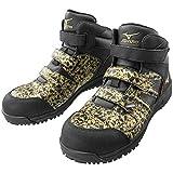 ミズノ 安全靴 F1GA1906 オールマイティ BF22M Ltd 50:ゴールド×ブラック 25.0cm (28.0cm, ゴールド×ブラック)