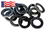 Backyard Dudes Garden Hose Heavy Duty Rubber Washer 12 pk Made in USA Washing Machine hot Water