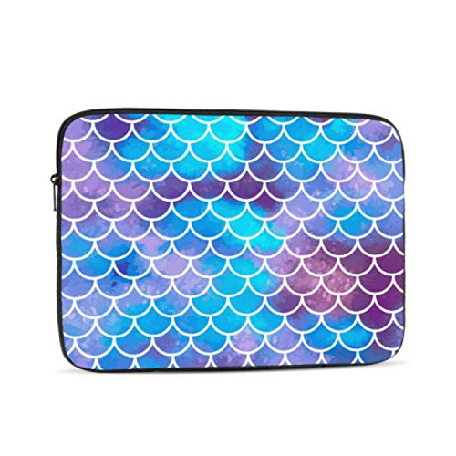 Case MacBook Pro 15 Mermaid Scales Fish Scales Underwater Laptop Protector Multi-Color & Size Choices10/12/13/15/17 Inch Computer Tablet Briefcase Carrying Bag
