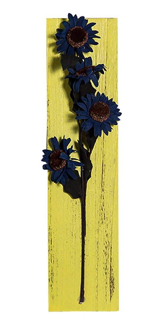 サーバ避難染色クリエイティブレトロ木の板の壁の装飾造花の装飾、19.68 x 4.72インチ [I]