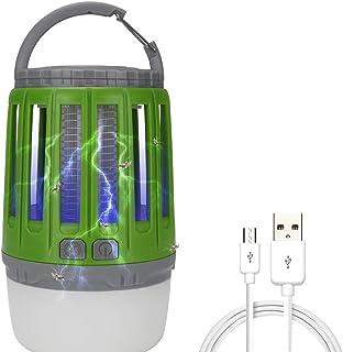 Abcidubxc Lámpara Antimosquitos Multifuncional, Insecticida para Lámpara De Insectos, Resistente Al Agua, con LED Luz