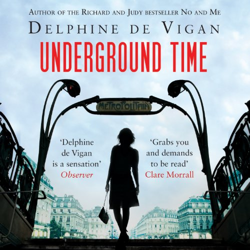 Underground Time audiobook cover art