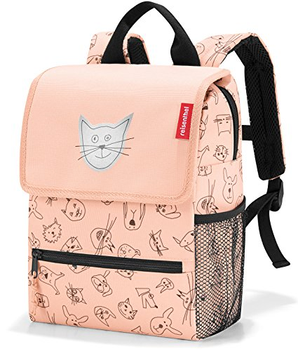 reisenthel backpack kids Kinder-Rucksack 21 x 28 x 12 cm/5 l / cats and dogs rose