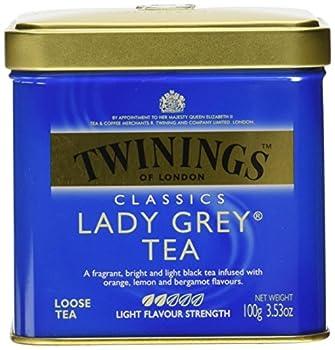 Twinings Lady Grey Loose Leaf Tea 3.53 oz