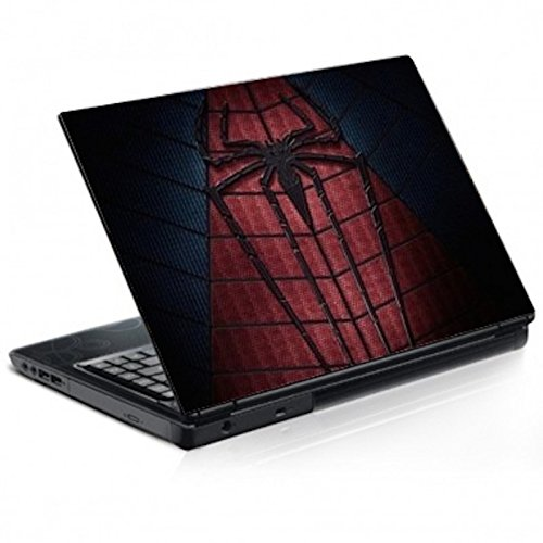"""Stickers Autocollants Ordinateur Portable PC Déco Spiderman réf 185 - PC 17"""" H26xL39 cm"""