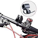 WUBEN Soporte de Linterna para Bicicleta, Ajustable, rápido de Instalar para diámetro 10-40mm linternas