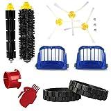 EPIEZA Kit de Neumaticos, Accesorios de Limpieza, Cepillos Repuestos Accesorios para Aspiradoras iRobot Roomba Serie 600 Pack de 14 uds