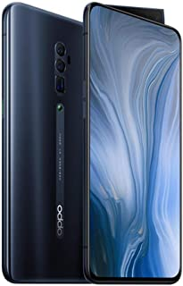 OPPO Reno 10x Zoom (5G, 48MP, 256GB/8GB, Tel) - Jet Black (Renewed)