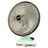 Vornado Silver Swan Alchemy Oscillating Vintage Fan, Seafoam