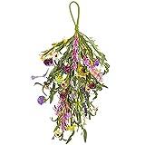 ZCFGUOI Guirnalda de flores artificiales para colgar en la pared, 2 unidades, diseño de lágrima floral artificial para interiores y exteriores, decoración del hogar