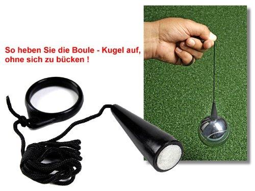 Bandito Boule-Kugelmagnet zum Aufheben der Boule- Kugel ohne Bücken