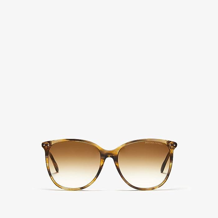 Bottega Veneta  BV0160S (Yellow) Fashion Sunglasses