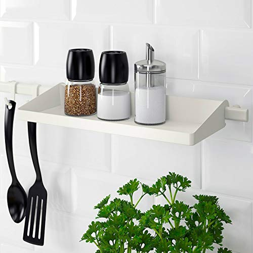 Sunnersta - Barra ajustable para cocina, estante y estante de calidad duradera...