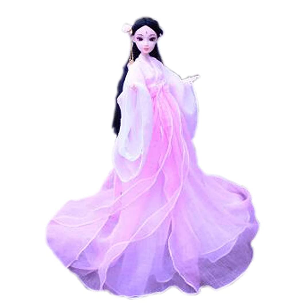 苦しめるアラバマ三角形女の子のための中国人形ムーンフェアリードールボールジョイントドールドレスドールゴージャス