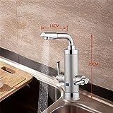 Wasserhahn mit integriertem Durchlauferhitzer