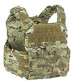 T3 Tomahawk Tactical Vest, Lightweight Military Tactical Vest, Water-Resistant Police Vest and Security Vest for Law Enforcement Professionals (Multicam)