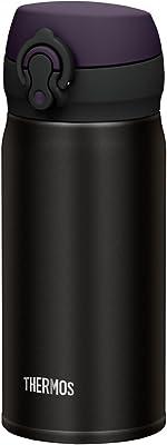 サーモス(THERMOS) 水筒 真空断熱ケータイマグ 【ワンタッチオープンタイプ】 350ml オールブラック JNL-352 ALB