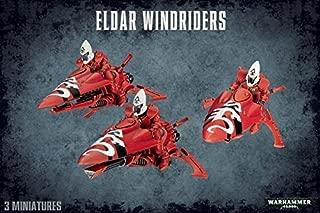 Warhammer 40k 40000 Eldar Windriders 3 miniatures