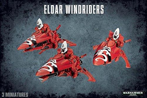 Games Workshop-Juego de Mesa y Miniatura Eldar Windriders, Multicolor, Talla única (99120104038)
