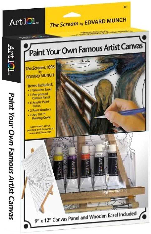 autorización oficial Art 101 Famous Artist Canvas Canvas Canvas Collection - The Scream  saludable