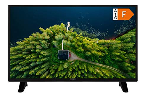 HITACHI H32E1001 Fernseher (HD Ready, Triple-Tuner), Schwarz, 80 cm (32 Zoll)