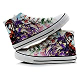 JPTYJ Date a Live High Top Graffiti Unisex High Top Zapatos Anime Casual Shoes Estudiantes Canvas Shoes Sneakers C-42