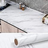 VEELIKE Papel Pintado Autoadhesivo Lavable 40cm x 300cm Vinilo Adhesivo para Encimera de Cocina...