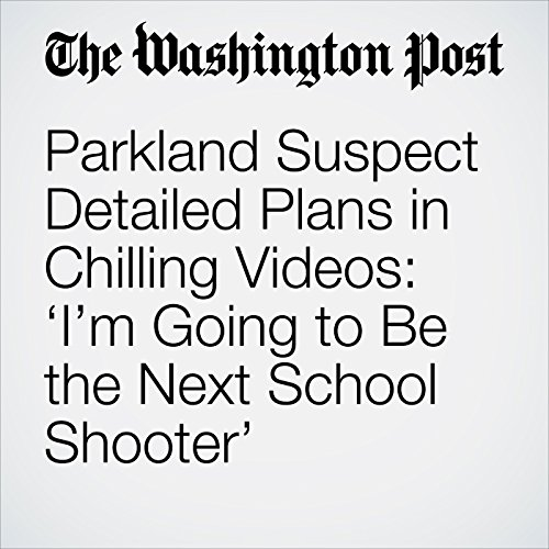 Parkland Suspect Detailed Plans in Chilling Videos: 'I'm Going to Be the Next School Shooter' copertina
