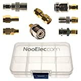 NooElec SMA Adapter Connectivity Kit: 8 Adapters for NESDR (RTL-SDR) SMA Radios w/Case...
