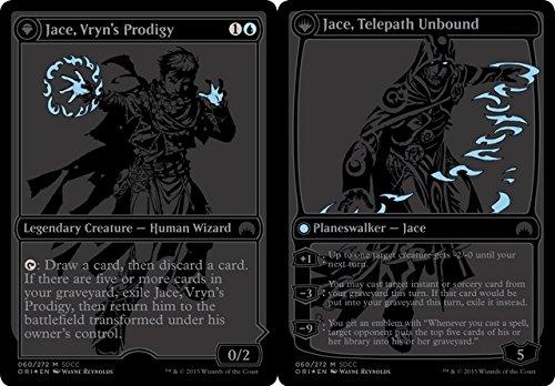 Magic The Gathering - Jace, Vryn39;s Prodigy // Jace, Telepath Unbound (080/272) - Unique & Misc. Promos - Foil