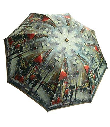 Blancho Urban Landscape Design Automation personnalisée Parapluie Pliable