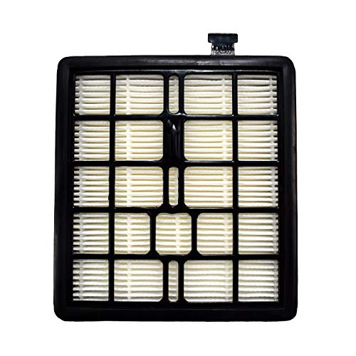 HQRP - Filtro compatible con Dirt Devil tipo F45 piezas de filtro 2KQ0107000 2-KQ0107-000 F-45 para aspiradoras de latas SD40000, EZ Lite SD40010 y posavasos
