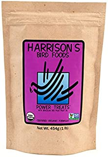 Harrison's Bird Food Power Treats with Red Palm Fruit Oil, 1 lb. 454g