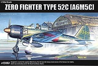 Academy Aircraft 1/72 Scale Plastic Model Kit Type 52C [A6M5C] Zero Fight #12493 /ITEM#G839GJ UY-W8EHF3140705