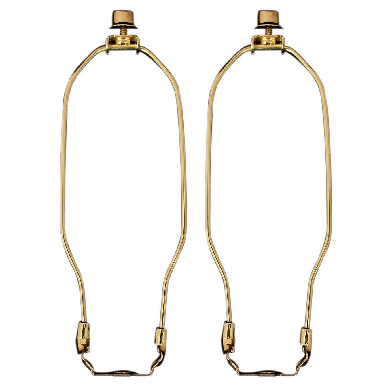 Royal Designs HA-1001-12BR-2 Heavy Duty Lamp Harp, 12