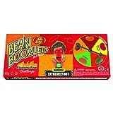 Jelly Belly frijol boozled llameante cinco spinner box - frijoles extremadamente caliente caramelo - para fiestas de adultos llena de diversión, 100g, pack de 1